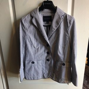 Banana republic seersucker blazer size 6
